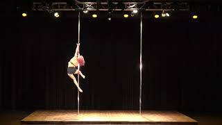 2018 US Pole Dance Championship Professional Division - Carly Child