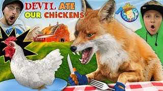 WILD FOX vs. OUR CHICKENS 😩 Spoiler: Chix didn't make it! (FV Family Vlog)