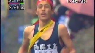 平成4年(1992年)高校駅伝 前半はゆったり入り、後半徐々に上げていく. ...