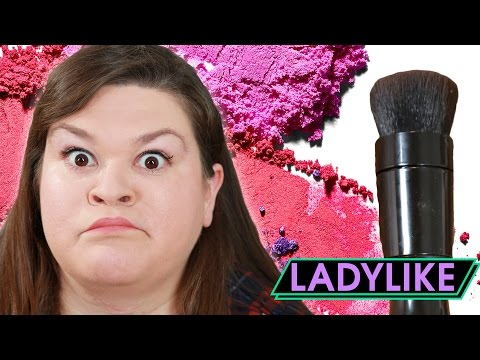 Thumbnail: Women Try An Electric Makeup Brush • Ladylike