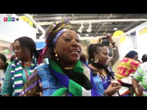 MINISTER OF TOURISM & CULTURE SIERRA LEONE MRS. MEMUNATU PRATT @ THE LONDON WORLD TOURISM MARKET2018