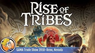 Rise of Tribes -- game preview at the 2018 GAMA Trade Show