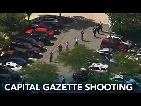 RAW VIDEO: Shooting At Capital Gazette In Annapolis, Maryland