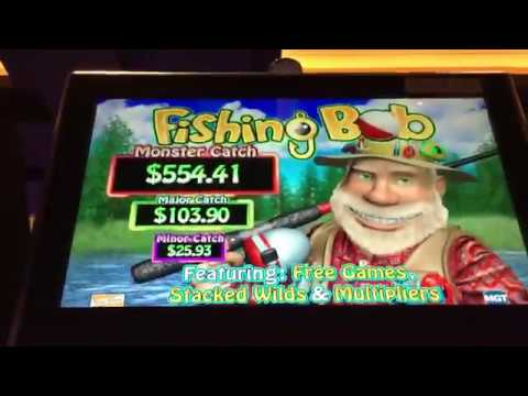 Fishing Bob Slot Machine