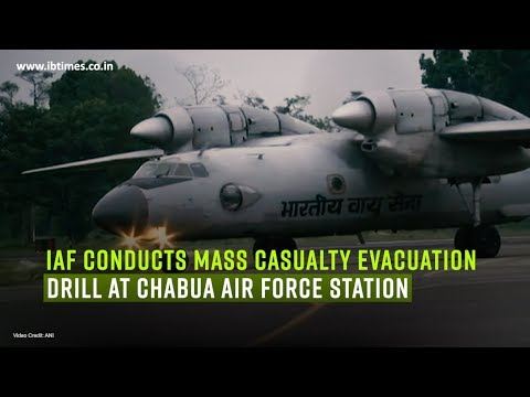 IAF conducts mass casualty evacuation drill at Chabua Air Force Station
