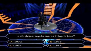 Who Wants To Be A Millionaire PS2 Editon Full Gameplay