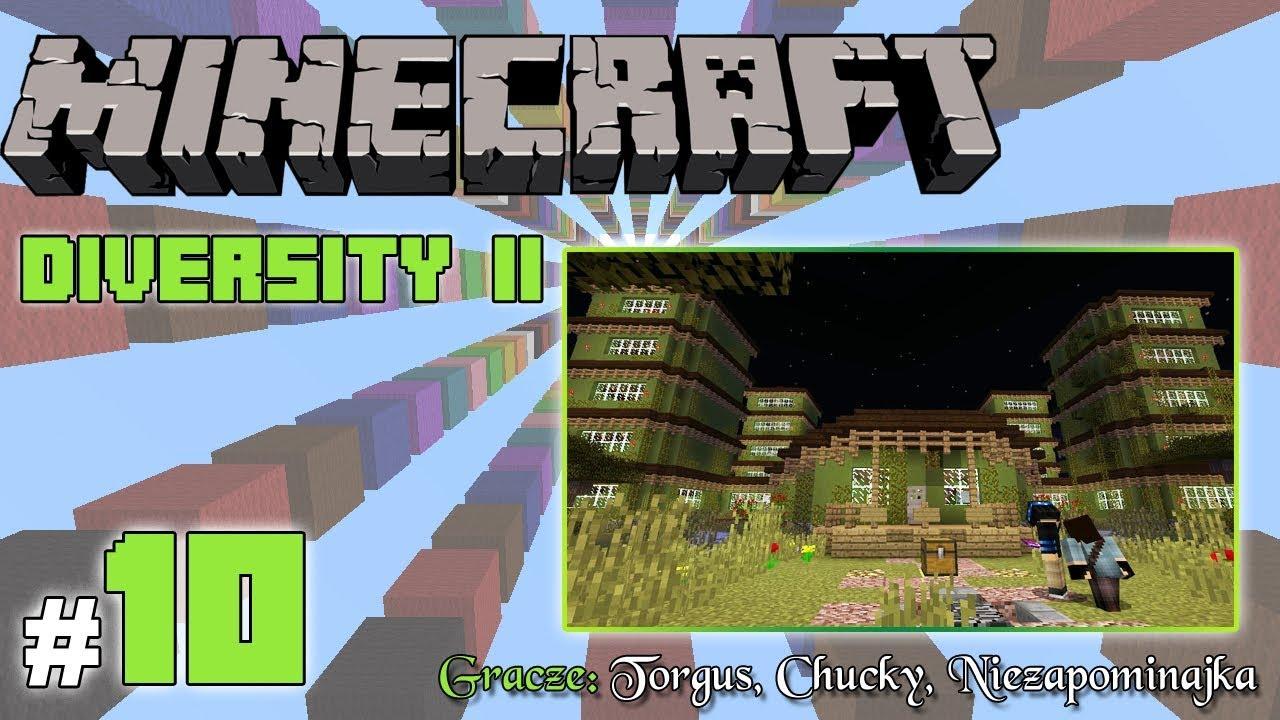 """Minecraft Escape: Diversity II z Torgus/Chucky! [10/x] – """"Wieże, portale i szkielety"""""""