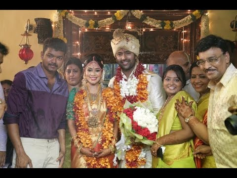 Vijay conducts Shanthanu- Keerthi Marriage | Bhagyaraj, Jyothika, Mani Ratnam | Wedding Video