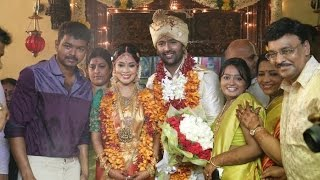 Vijay Conducts Shanthanu Keerthi Marriage Bhagyaraj Jyothika Mani Ratnam Wedding Video