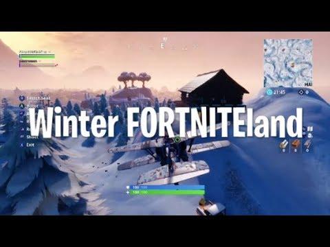 Winter FORTNITEland (Christmas parody)
