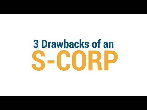 LLC vs S Corp - 3 DRAWBACKS of an S Corporation - Costs and problems