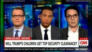 Ryan Lizza & Phillip Bump on Will Trump's Children Get top security Clearance? #PEOTUS#1#1