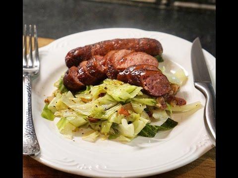 Kielbasa Sausage And Cabbage