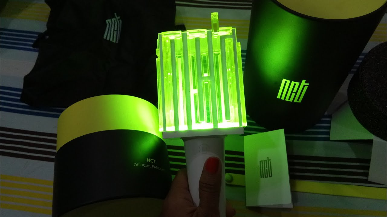 UNBOXING OFFICIAL LIGHTSTICK NCT
