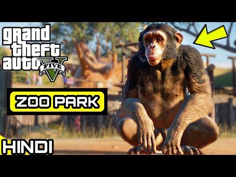 ZOO PARK TOUR in GTA V | KrazY Gamer |