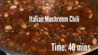 Italian Mushroom Chili Recipe