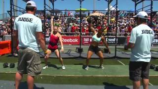 CrossFit Games Regionals 2012 - Event Summary: NorCal Women