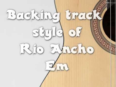 backing track style Rio ancho paco de lucia