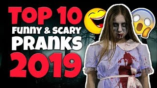 Funny Scare Pranks Compilation 2019 People scaring friends