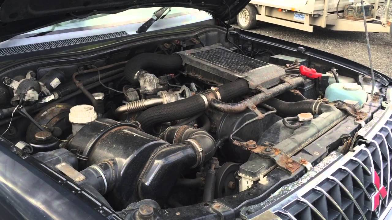 2003 Mitsubishi L200 2 5td Engine Start And Run
