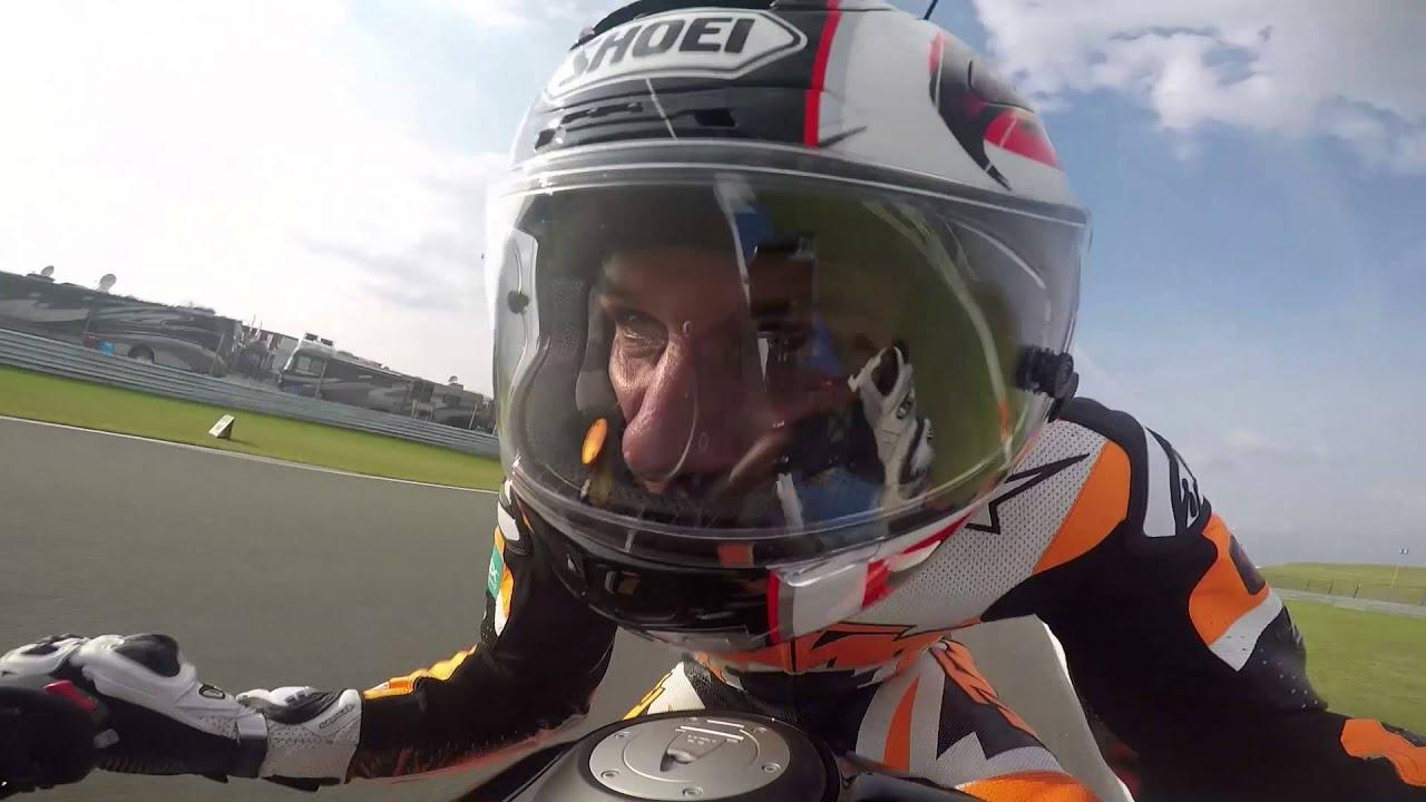 KTM 1290 SUPER DUKE R meets MotoGP in Assen - YouTube