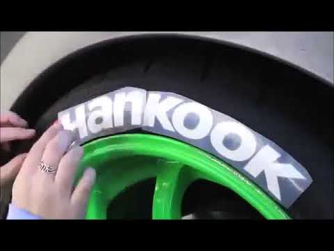 How to Install Tire Stickers - How to Install Tire Letters