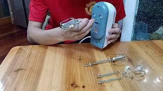7단기능 전동휘핑기 사용법