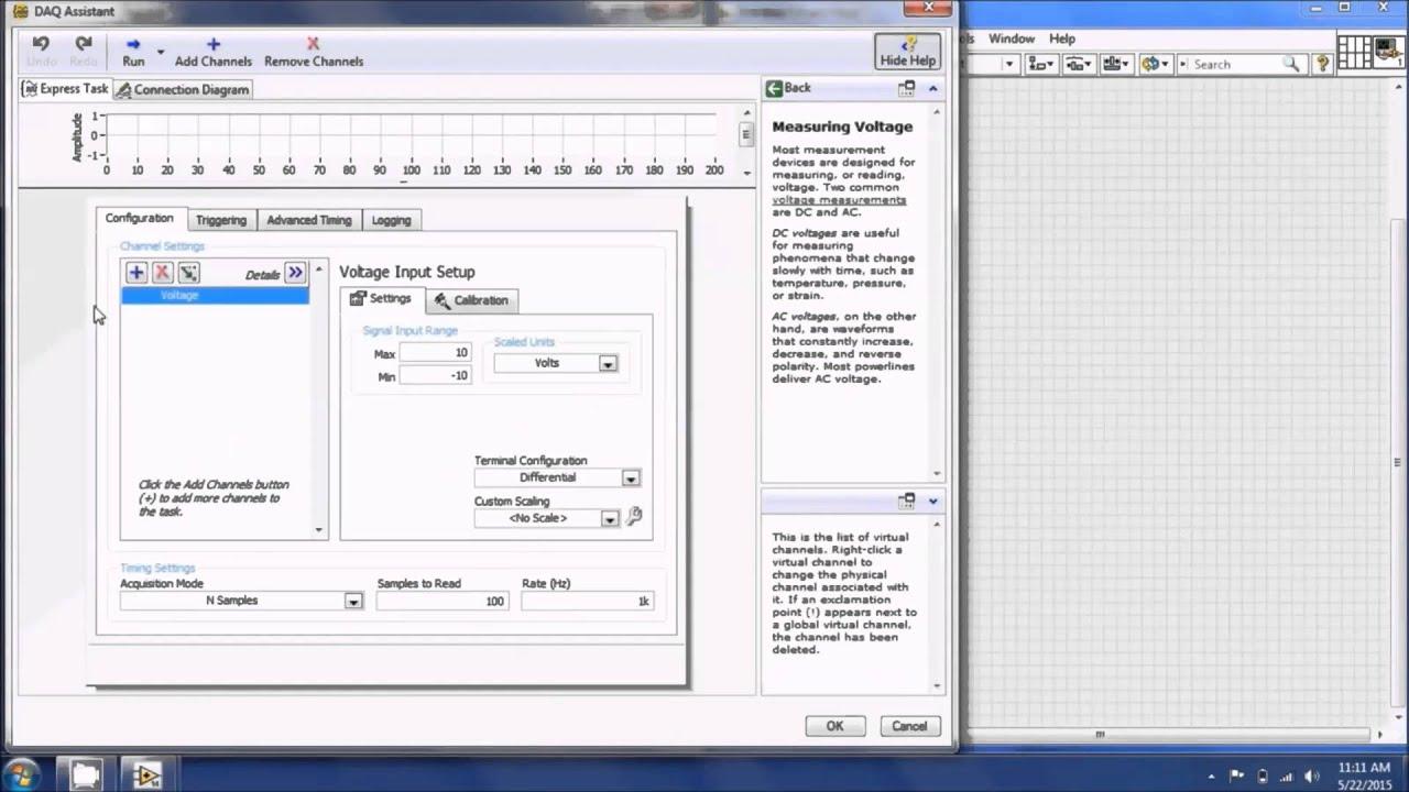 Measurements I - DAQ LabView Tutorial Part 1