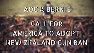 The Left Wants To Adopt New Zealand Gun Ban