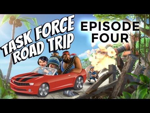 Boom Beach Task Force Road Trip (Episode #4)