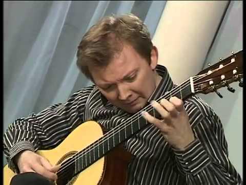 """Napoleon Coste """" Introduktion et Variations sur un motif de Rossini"""" played by Roman Viazovskiy"""