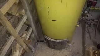 видео Эффективность использования твердотопливного котла Стропува