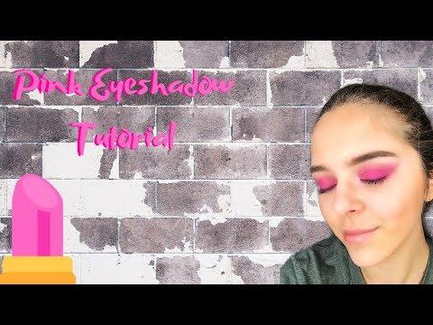 Pink Eyeshadow Tutorial | BH Cosmetics And Huda Beauty