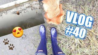VLOG #40 / neue HUNTERBOOTS / unser LIEBLINGSORT