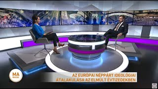 Az Európai Néppárt ideológiai átalakulása az elmúlt évtizedekben