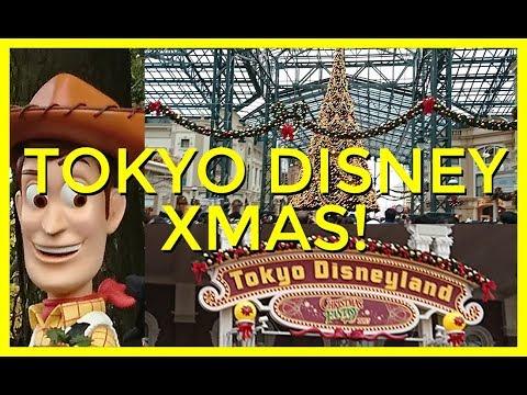 Tokyo DISNEYLAND at Christmas VLOG - Adventures in Airtime