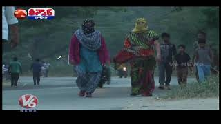 Temperature Levels Dips To Low In Telangana State | Teenmaar News |...