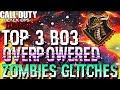 Bo3 Zombies: *TOP 3 OVERPOWERED GLITCHES* UNLIMITED XP, LIQUID DIVINIUM (after patch 1.25)