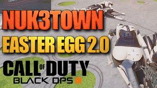 NOVO Easter Egg 2.0 na NUK3TOWN - Manequins congelados - Black Ops 3