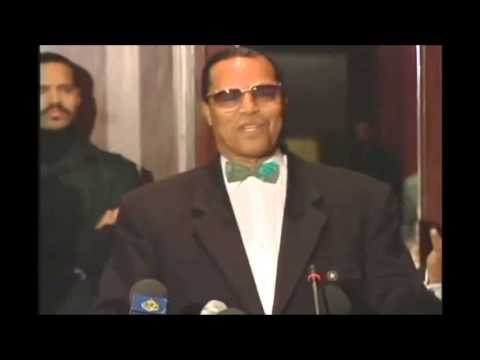 THE HONORABLE MINISTER LOUIS FARRAKHAN: