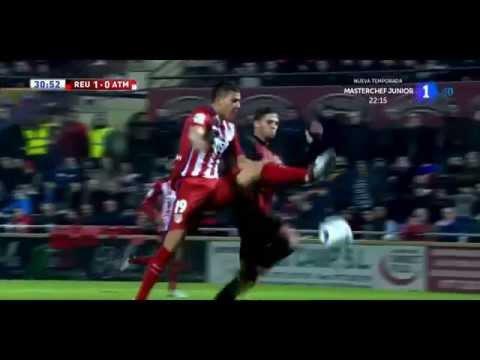 Gol de Fran Carbiá Reus Deportiu (1-2) Atlético de Madrid | Copa del Rey 4º eliminatoria IDA