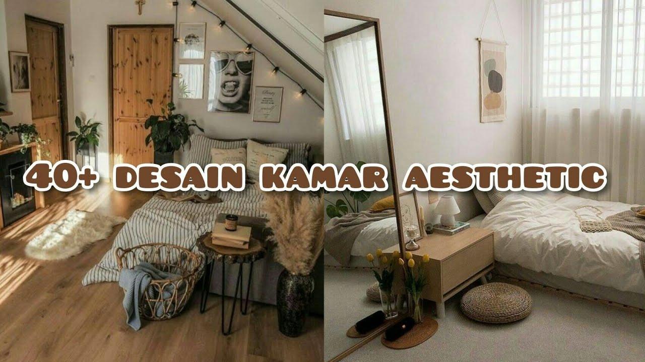 Desain Kamar Aesthetic 40 Contoh Dekorasi Kamar Youtube Dekorasi kamar rumah kayu
