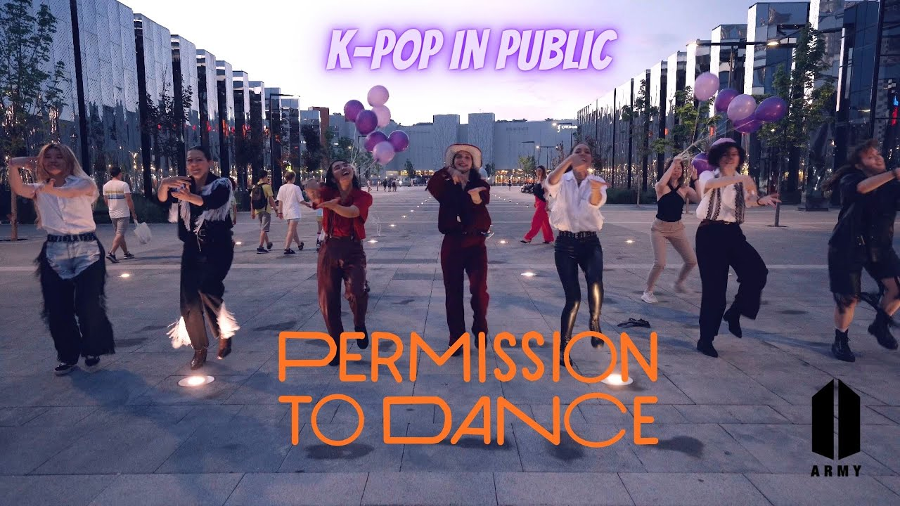[KPOP MV COVER] K-POP IN PUBLIC BTS (방탄소년단) - PERMISSION TO DANCE cover by PartyHard
