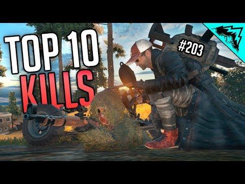 RUSH vs STEALTH - PlayerUnknown's Battlegrounds TOP 10 Plays - WBCW #203 (PUBG Gameplay Top 10 Kills