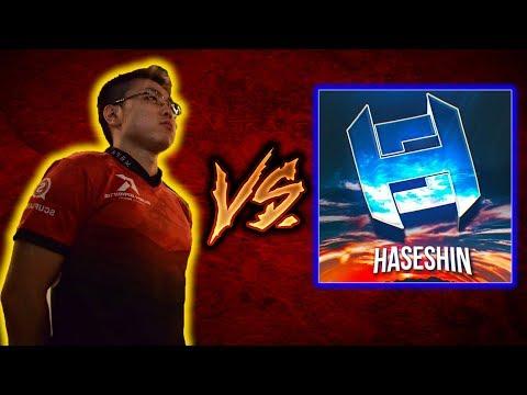 【CoD:WW2】日本一位 CoD 実況者 ハセシンさんと 1v1対決!!@RushWinRed