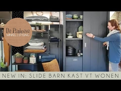 New In Vt Wonen Slide Barn Kast Youtube