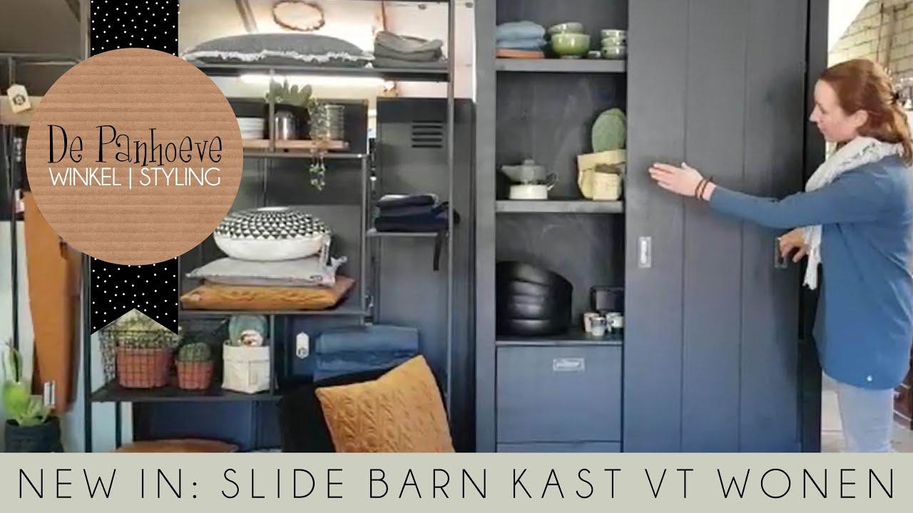 New In Vt Wonen Slide Barn Kast