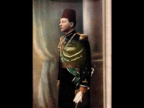 King Farouk of Egypt