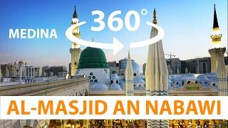 Al Masjid An Nabawi Medina or Madinah or madina Day Saudi Arabia 4K HD 360° VR Virtual Reality 3D