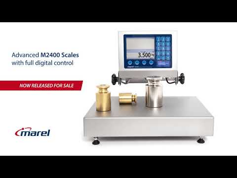 Marel M2400 Scales – Advanced Weighing, Grading And Packing Scale
